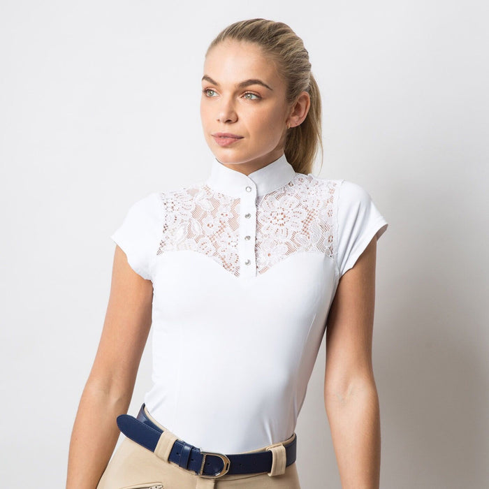 Equetech Florence Lace Show Shirt