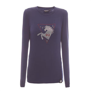 Equestrian Queen Jessica Long Sleeve Ladies T Shirt