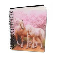 3D Notebook Spring Love