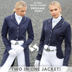 Equetech Ultimate Quick Change Dressage Tailcoat