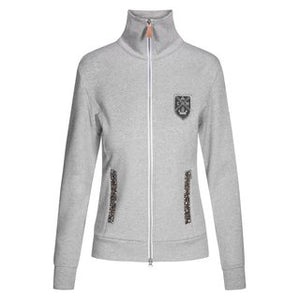 Chriwen Snowflake Ladies Sweat Jacket