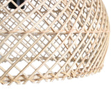 Maze rotan lamp medium