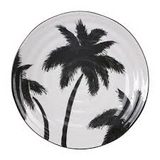 Palmboom diner bord