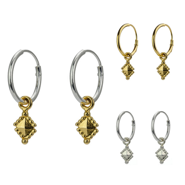 Tekhenu Hoop earrings