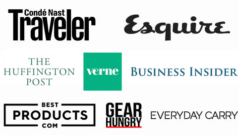 Conde Nast, Esquire, Huffington Post, El Pais, Verne, Business Insider, Best Products, EDC