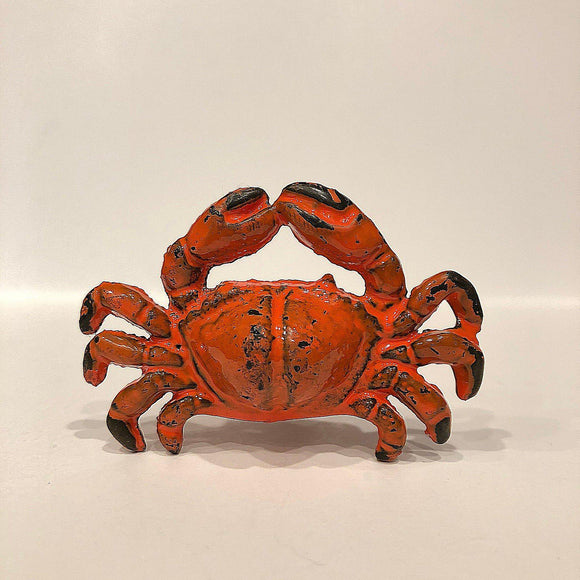 Cast Iron Red Crab Cabinet Knobs Shellfish Drawer Pulls-Dwyer Home Collection