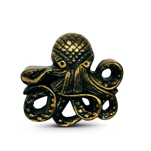 Cast Iron Octopus Cabinet Knobs Nautical Ocean Dresser Drawer Pulls-Dwyer Home Collection