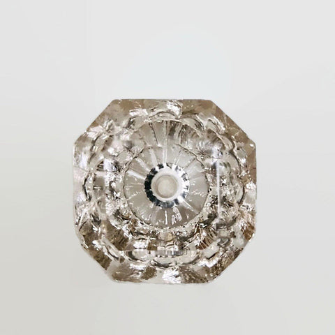 Clear Elegant Glass Cabinet Knobs Dresser Drawer Pulls-Dwyer Home Collection
