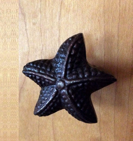Starfish Nautical Coastal Cabinet Knobs Drawer Pulls Ocean Sea Star Dwyer  Home Collection