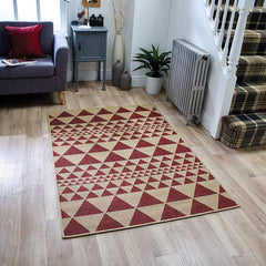 Flatweave Moda Prism in Red