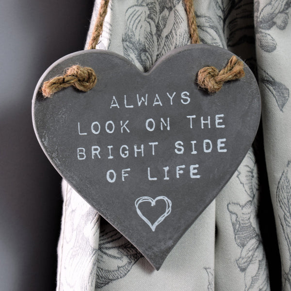 Always Look on the Bright Side Hanging Decoration