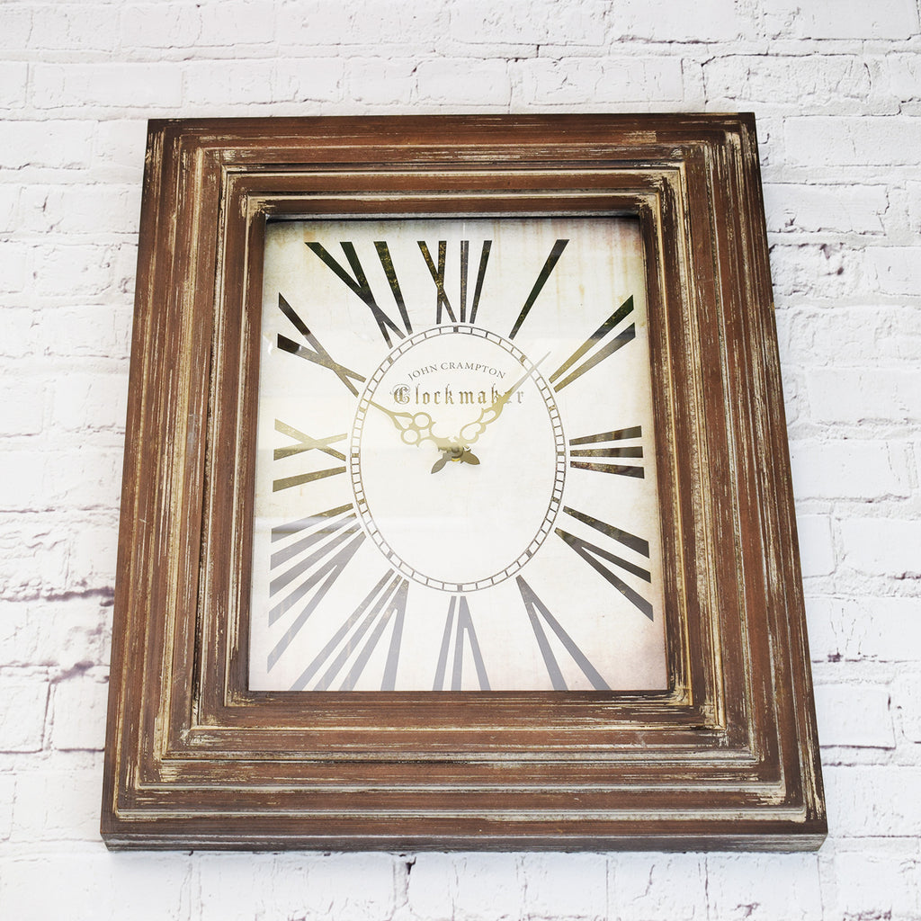 Chunky Wooden Clock