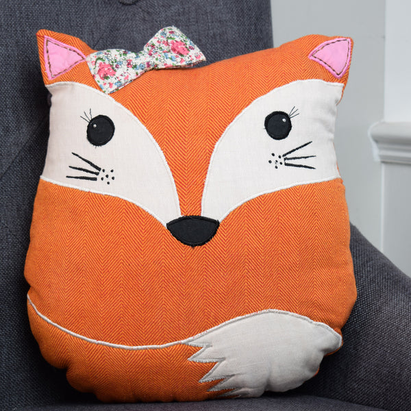 Mrs Fox Cushion