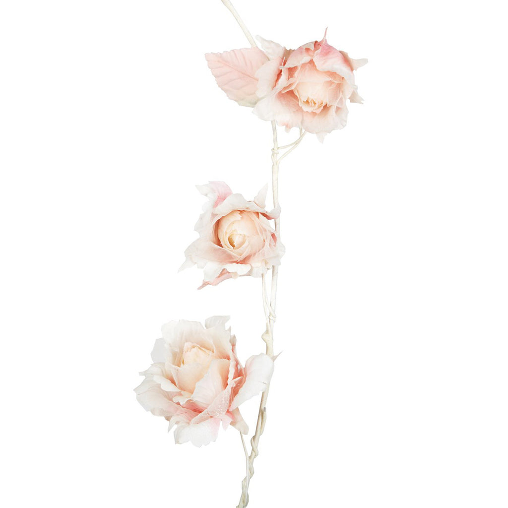 Vintage Rose Garland Light Pink