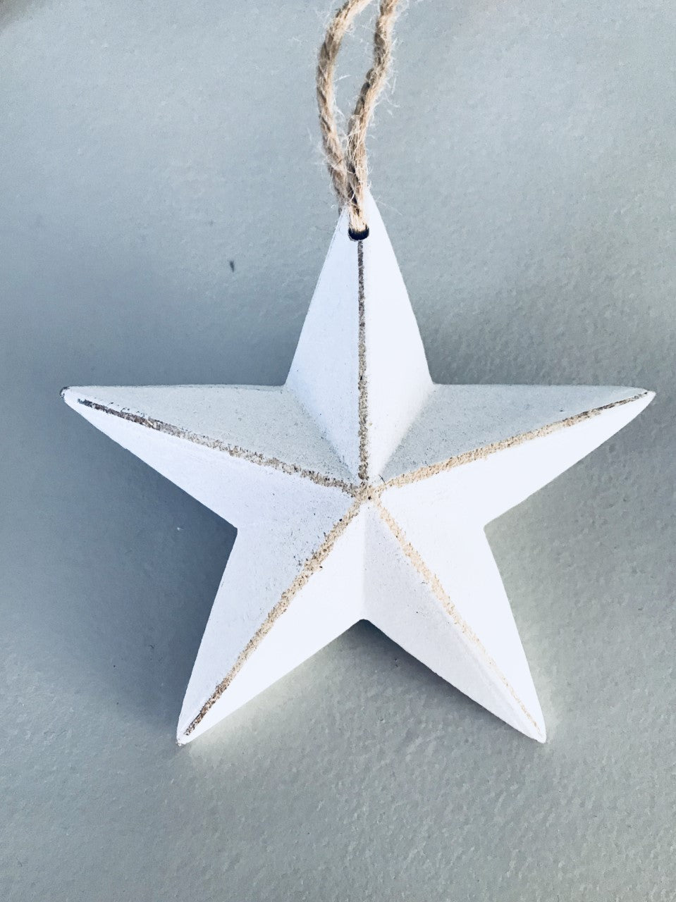 Small Hanging White Star
