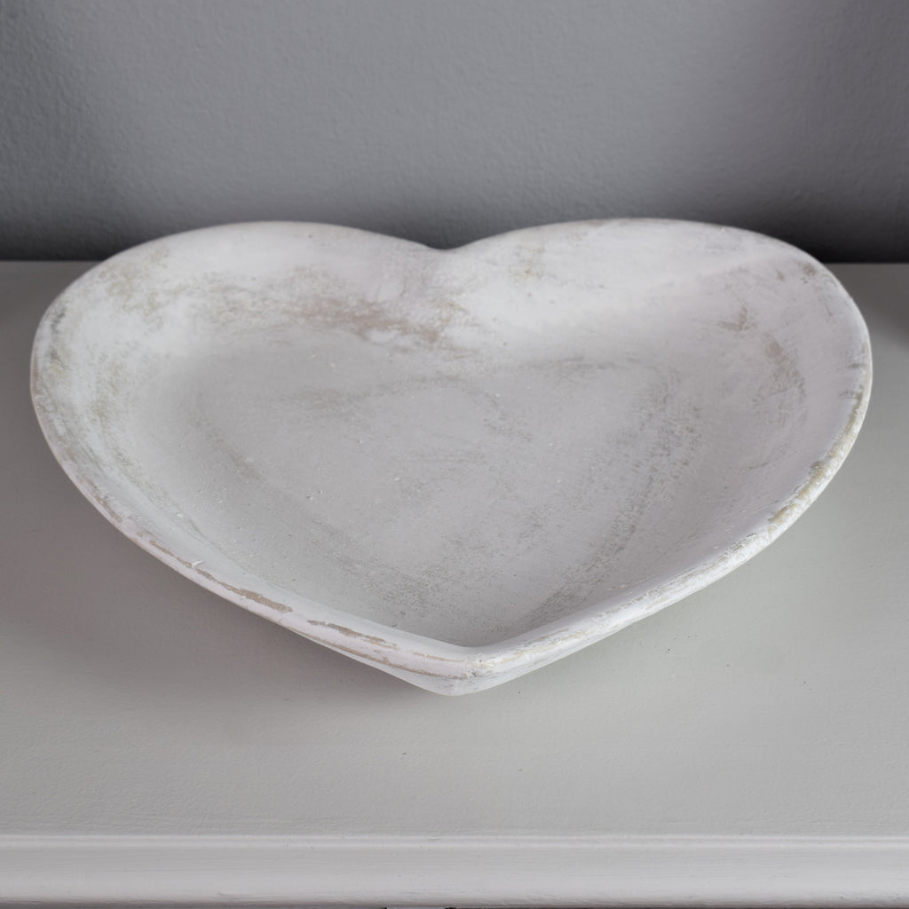 Stone Heart Display Dish