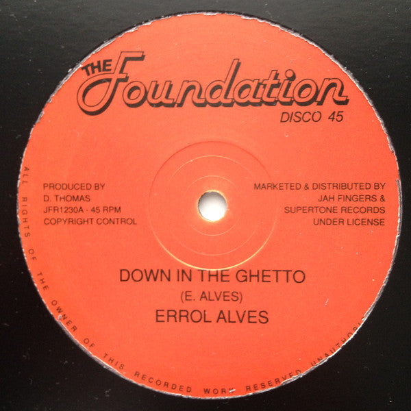 Down In The Ghetto / Sun Is Shining