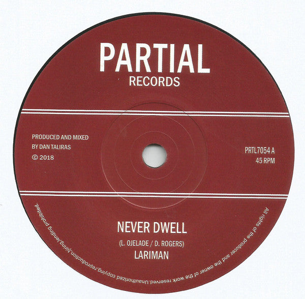 Never Dwell / Dub