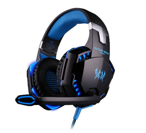 Glowing Gaming Headset With Microphone – 3 Colors