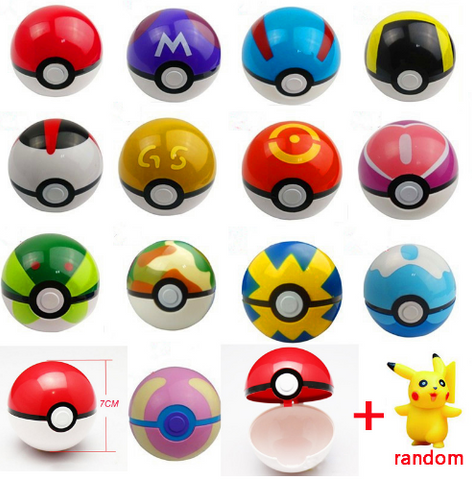 Pokemon Pokeball 13 styles