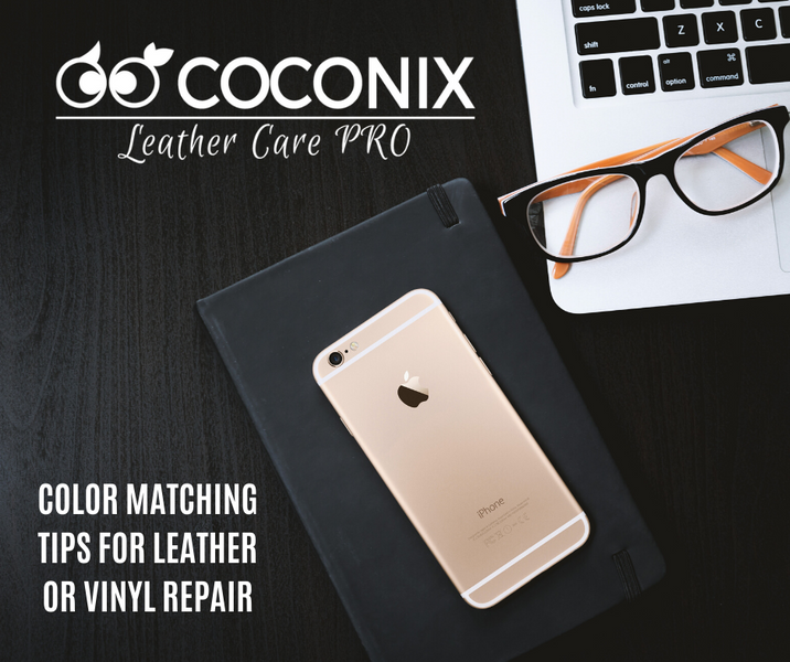 COLOR MATCHING TIPS FOR LEATHER OR VINYL REPAIR