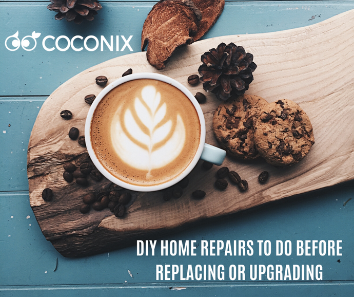 DIY HOME REPAIRS TO DO BEFORE REPLACING OR UPGRADING