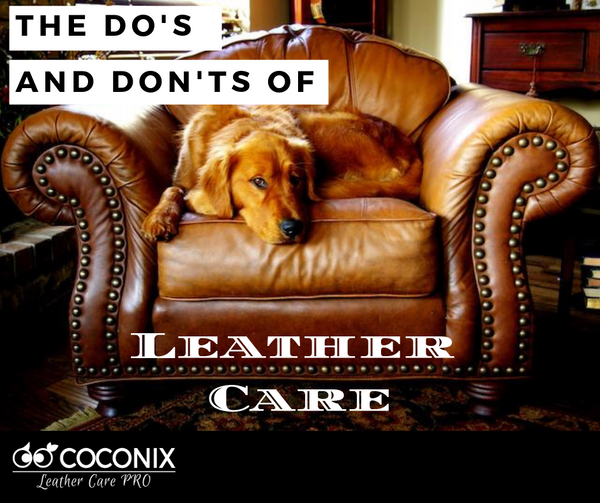 The Do's and Don'ts of Leather Care