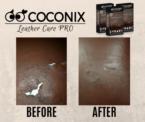 Customer review - Coconix Leather and Vinyl Repair Kit: SIMPLE, EFFECTIVE, WORKS!