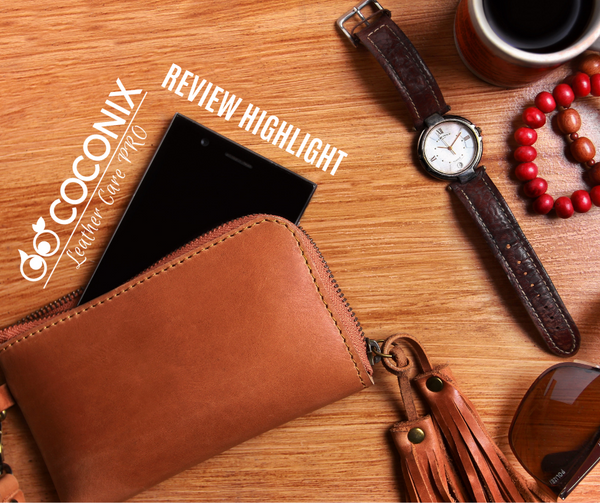 Customer Review - Coconix Leather and Vinyl Repair Kit:  DIY REPAIR FOR UNDER $20