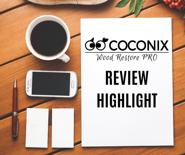 Customer Review - Coconix Floor and Furniture Repair Kit: WORKS AWESOME!