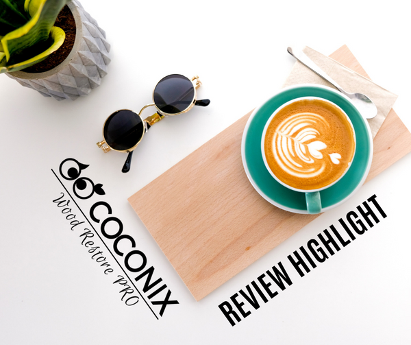 Customer Review - Coconix Floor and Furniture Repair Kit: BEST IN THE MARKET!