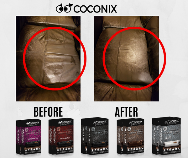 Customer Review: Coconix Professional Leather and Vinyl Repair Kit: TURNED OUT GREAT!