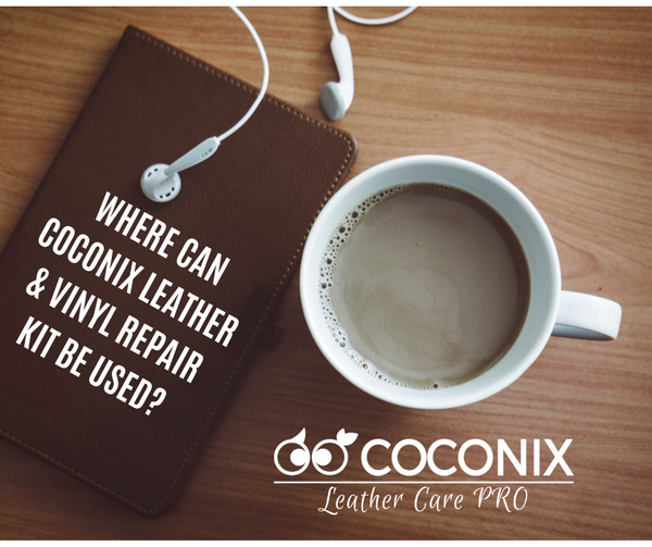 WHERE CAN COCONIX LEATHER & VINYL REPAIR KIT BE USED?
