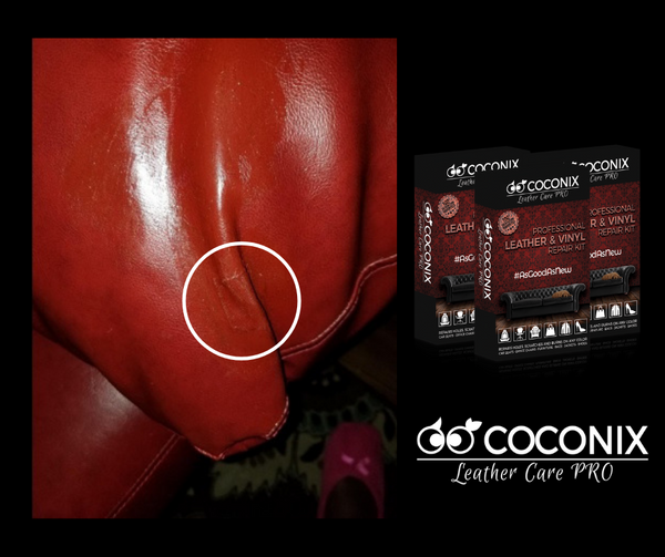 Customer Review: Coconix Professional Leather and Vinyl Repair Kit:  HIDE A SPLIT