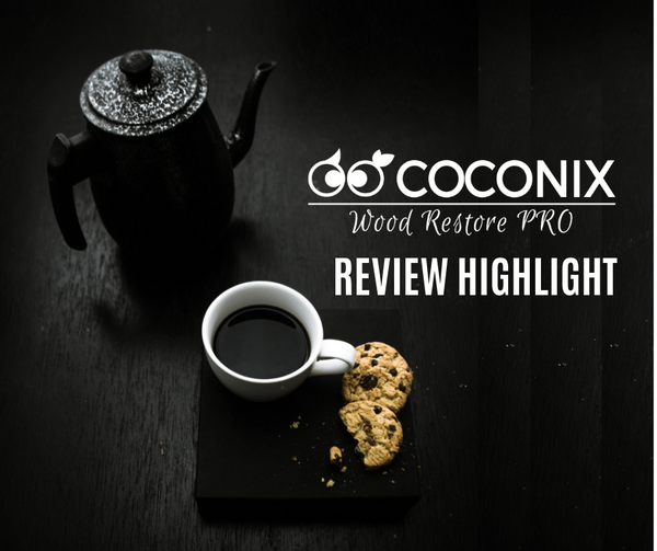 Customer Review - Coconix Floor and Furniture Repair Kit: COFFEE TABLE SAVIOR!