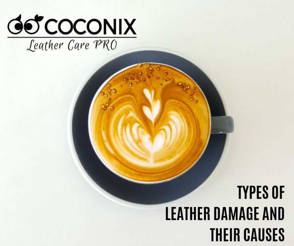 TYPES OF LEATHER DAMAGE AND THEIR CAUSES