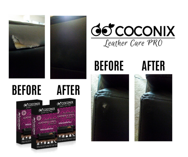 Customer Review - Coconix Professional Leather and Vinyl Repair Kit: IT'S AWESOME!