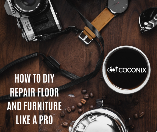 HOW TO DIY REPAIR FLOOR AND FURNITURE LIKE A PRO