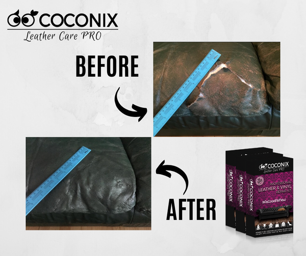 Customer Review - Coconix Professional Leather and Vinyl Repair Kit: TAKE YOUR TIME AND DO IT RIGHT!