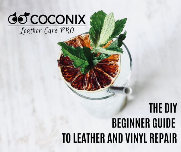 THE DIY BEGINNER GUIDE TO LEATHER AND VINYL REPAIR
