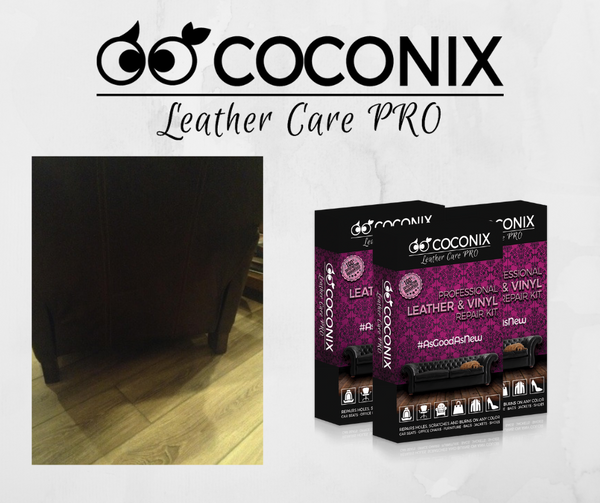 Customer Review - Coconix Professional Leather and Vinyl Repair Kit: WE WERE SO PLEASED WITH THE OUTCOME