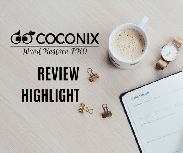Customer Review - Coconix Floor and Furniture Repair Kit: I DEFINITELY RECOMMEND