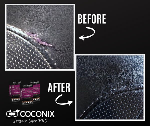Customer Review - Coconix Professional Leather and Vinyl Repair Kit: COULDN'T BE HAPPIER!!!!