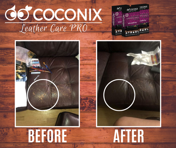 Customer Review - Coconix Professional Leather and Vinyl Repair Kit: DEFINITELY WOULD RECOMMEND!