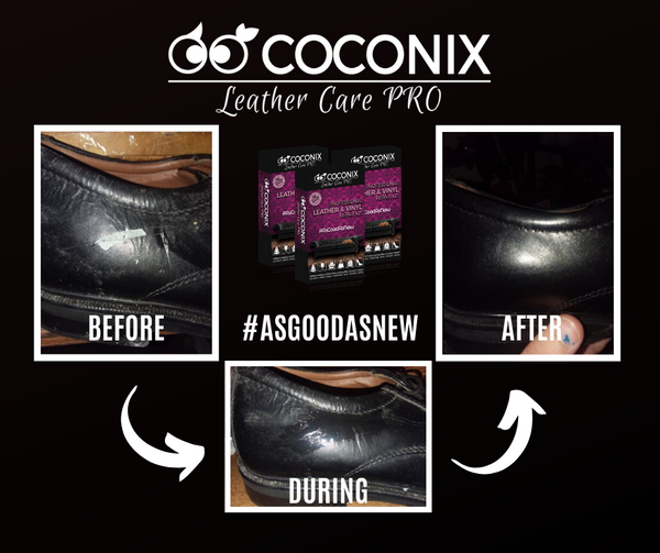 Customer Review - Coconix Professional Leather and Vinyl Repair Kit: FIXES RIPS AND TEARS IN LEATHER AND VINYL
