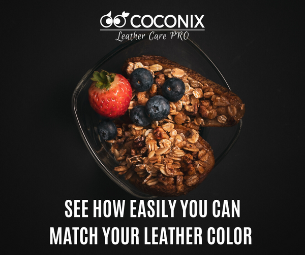 SEE HOW EASILY YOU CAN MATCH YOUR LEATHER COLOR