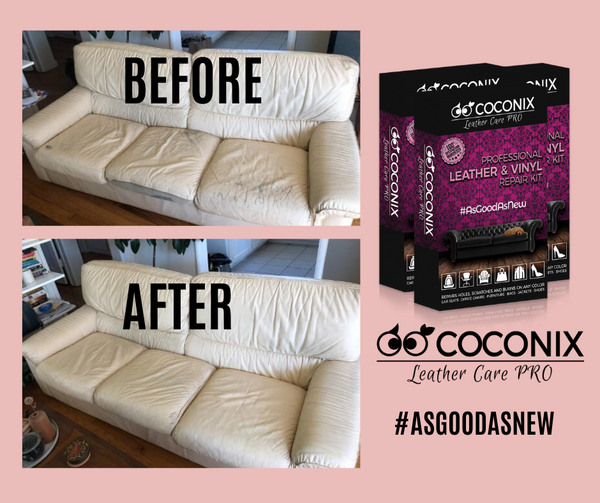 Customer Review - Coconix Professional Leather and Vinyl Repair Kit: GREAT PRODUCT, SAVED THE COUCH.