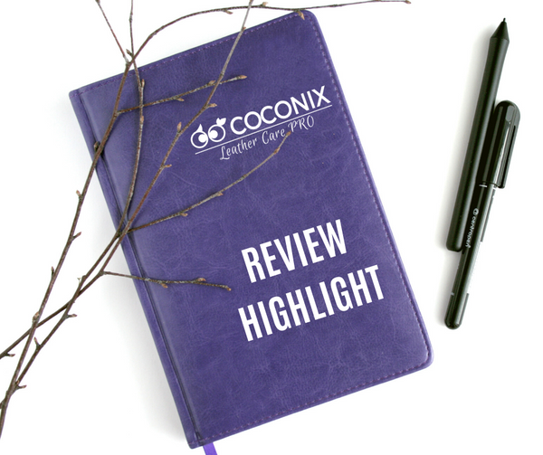 Customer Review - Coconix Professional Leather and Vinyl Repair Kit: GREAT PRODUCT - WONDERFUL CUSTOMER SERVICE!
