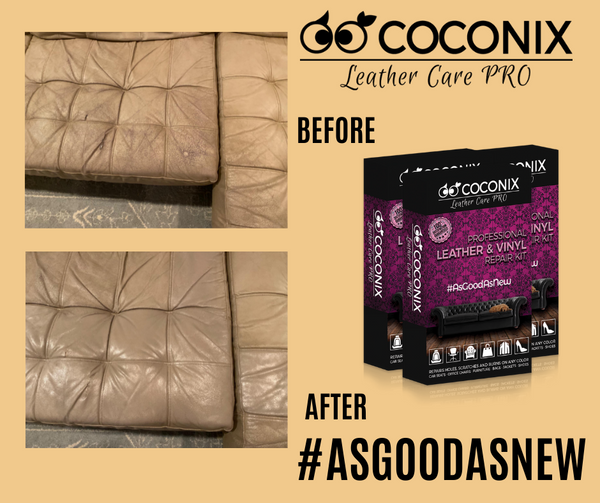 Customer Review - Coconix Professional Leather and Vinyl Repair Kit: IT WORKS!