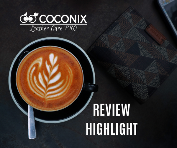 Customer Review - Coconix Professional Leather and Vinyl Repair Kit: I AM THRILLED. BETTER THAN I COULD HAVE HOPED